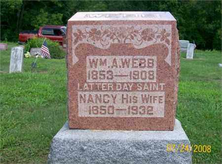 WEBB, WILLIAM A. - Vinton County, Ohio | WILLIAM A. WEBB - Ohio Gravestone Photos