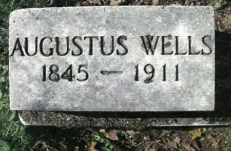 WELLS, AUGUSTUS - Vinton County, Ohio | AUGUSTUS WELLS - Ohio Gravestone Photos