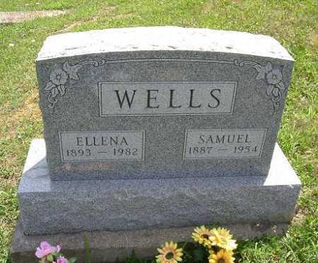 WELLS, SAMUEL - Vinton County, Ohio | SAMUEL WELLS - Ohio Gravestone Photos