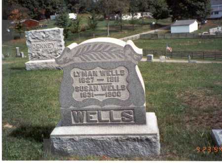 DOUGLASS WELLS, SUSAN - Vinton County, Ohio | SUSAN DOUGLASS WELLS - Ohio Gravestone Photos