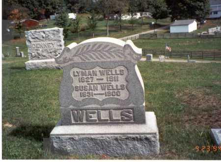 WELLS, LYMAN - Vinton County, Ohio   LYMAN WELLS - Ohio Gravestone Photos