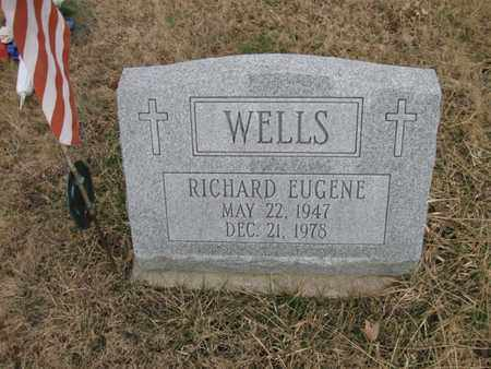 WELLS, RICHARD EUGENE - Vinton County, Ohio | RICHARD EUGENE WELLS - Ohio Gravestone Photos
