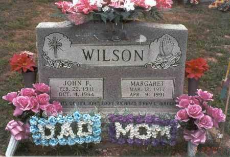 WILSON, MARGARET - Vinton County, Ohio | MARGARET WILSON - Ohio Gravestone Photos