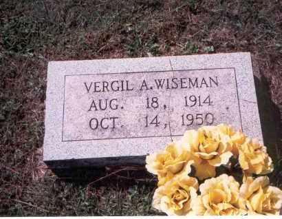 WISEMAN, VERGIL - Vinton County, Ohio | VERGIL WISEMAN - Ohio Gravestone Photos