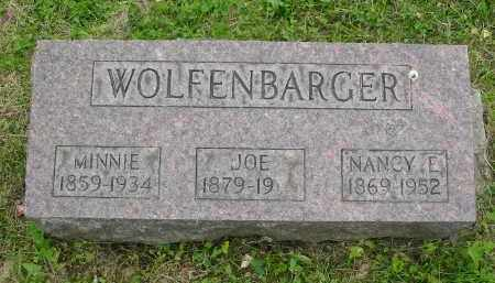 WOLFENBARGER, JOE - Vinton County, Ohio | JOE WOLFENBARGER - Ohio Gravestone Photos