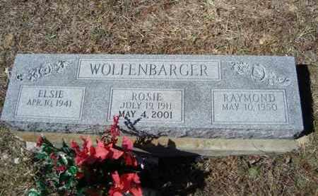 WOLFENBARGER, ROSIE DOLL - Vinton County, Ohio | ROSIE DOLL WOLFENBARGER - Ohio Gravestone Photos