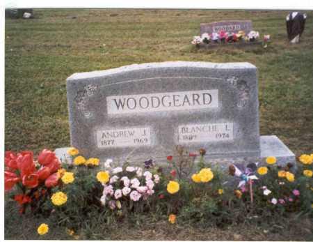 EGGLESTON WOODGEARD, BLANCHE L. - Vinton County, Ohio | BLANCHE L. EGGLESTON WOODGEARD - Ohio Gravestone Photos