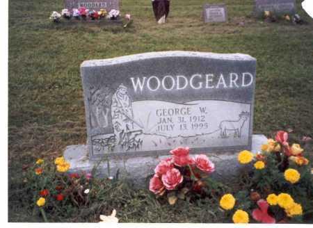 WOODGEARD, GEORGE W. - Vinton County, Ohio   GEORGE W. WOODGEARD - Ohio Gravestone Photos