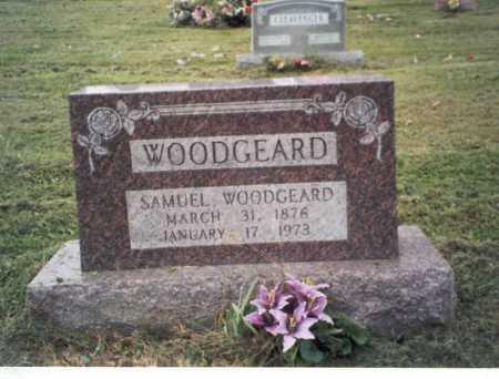 WOODGEARD, SAMUEL - Vinton County, Ohio   SAMUEL WOODGEARD - Ohio Gravestone Photos