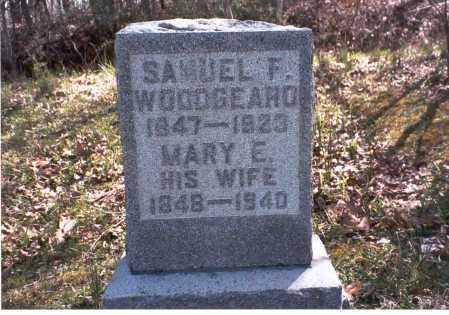COTTRILL WOODGEARD, MARY E. - Vinton County, Ohio | MARY E. COTTRILL WOODGEARD - Ohio Gravestone Photos