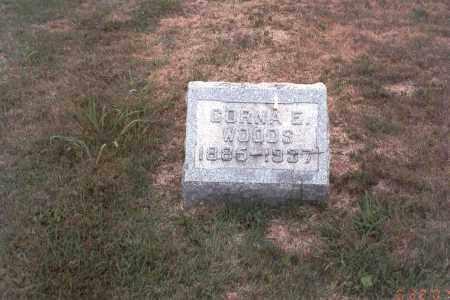 WOODS, CORNA - Vinton County, Ohio   CORNA WOODS - Ohio Gravestone Photos