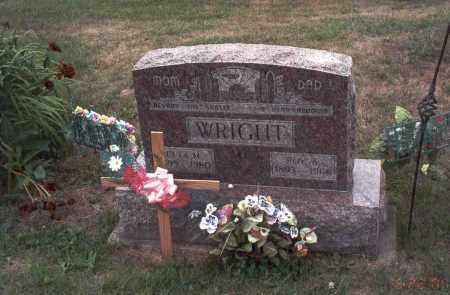WRIGHT, ROY A. - Vinton County, Ohio | ROY A. WRIGHT - Ohio Gravestone Photos