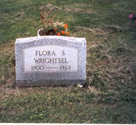 WRIGHTSEL, FLORA S. - Vinton County, Ohio   FLORA S. WRIGHTSEL - Ohio Gravestone Photos