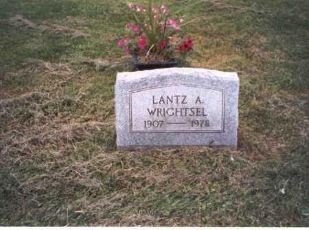 WRIGHTSEL, LANTZ A. - Vinton County, Ohio | LANTZ A. WRIGHTSEL - Ohio Gravestone Photos