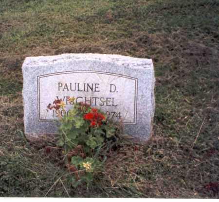 WRIGHTSEL, PAULINE . - Vinton County, Ohio   PAULINE . WRIGHTSEL - Ohio Gravestone Photos