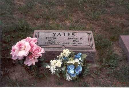 YATES, FREDA - Vinton County, Ohio   FREDA YATES - Ohio Gravestone Photos