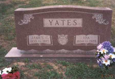 YATES, IDA - Vinton County, Ohio | IDA YATES - Ohio Gravestone Photos