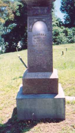 ZIEGLER,, BARBARA - Vinton County, Ohio   BARBARA ZIEGLER, - Ohio Gravestone Photos