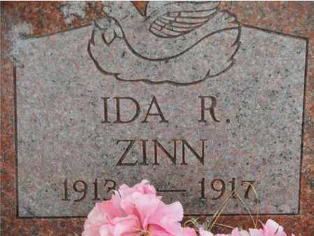 ZINN, IDA R - Vinton County, Ohio | IDA R ZINN - Ohio Gravestone Photos
