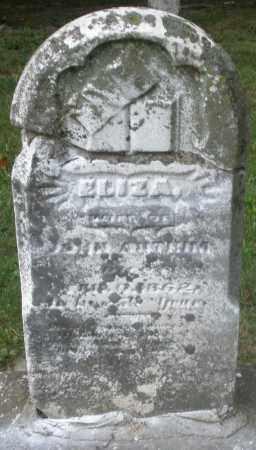 ANTRIM, ELIZA - Warren County, Ohio   ELIZA ANTRIM - Ohio Gravestone Photos