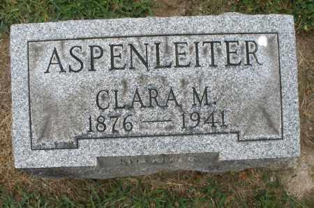 ASPENLEITER, CLARA M. - Warren County, Ohio | CLARA M. ASPENLEITER - Ohio Gravestone Photos