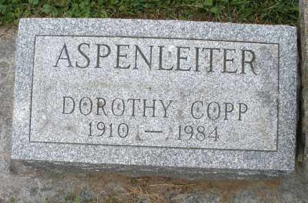 ASPENLEITER, DOROTHY - Warren County, Ohio | DOROTHY ASPENLEITER - Ohio Gravestone Photos