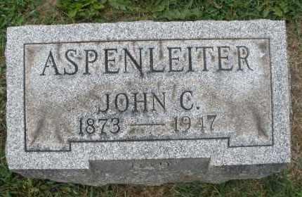 ASPENLEITER, JOHN C. - Warren County, Ohio | JOHN C. ASPENLEITER - Ohio Gravestone Photos