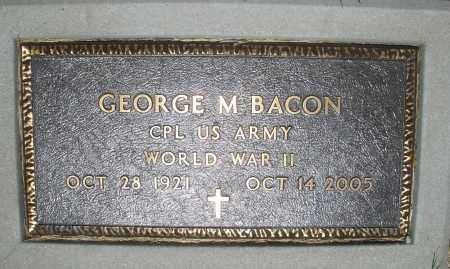 BACON, GEORGE M. - Warren County, Ohio | GEORGE M. BACON - Ohio Gravestone Photos