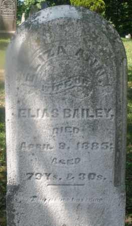 BAILEY, ELIZA ANN - Warren County, Ohio   ELIZA ANN BAILEY - Ohio Gravestone Photos