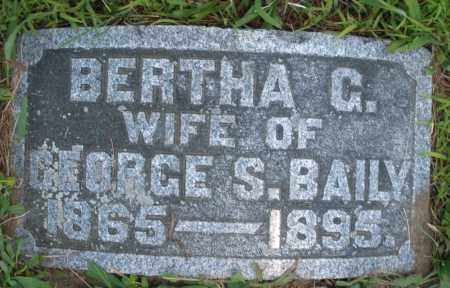 BAILY, BERTHA G. - Warren County, Ohio | BERTHA G. BAILY - Ohio Gravestone Photos