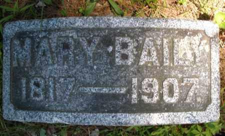 BAILY, MARY - Warren County, Ohio | MARY BAILY - Ohio Gravestone Photos