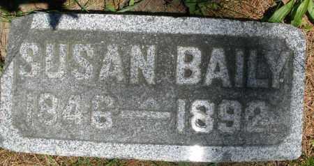 BAILY, SUSAN - Warren County, Ohio | SUSAN BAILY - Ohio Gravestone Photos