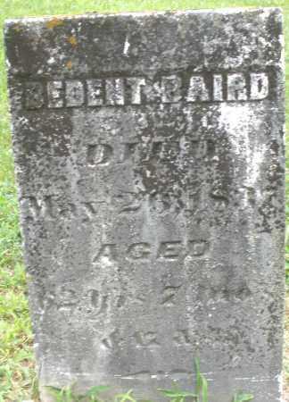 BAIRD, BEDENT - Warren County, Ohio | BEDENT BAIRD - Ohio Gravestone Photos