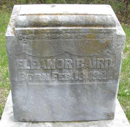 BAIRD, ELEANOR - Warren County, Ohio | ELEANOR BAIRD - Ohio Gravestone Photos