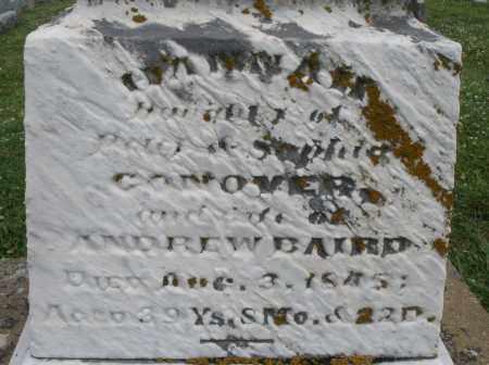 CONOVER BAIRD, HANNAH - Warren County, Ohio | HANNAH CONOVER BAIRD - Ohio Gravestone Photos