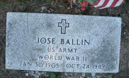 BALLIN, JOSE - Warren County, Ohio | JOSE BALLIN - Ohio Gravestone Photos