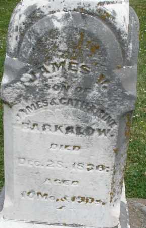 BARKALOW, JAMES V. - Warren County, Ohio | JAMES V. BARKALOW - Ohio Gravestone Photos