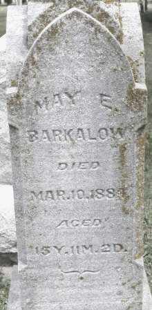 BARKALOW, MAY E. - Warren County, Ohio   MAY E. BARKALOW - Ohio Gravestone Photos