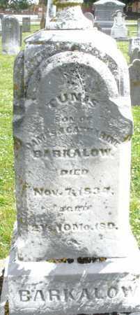 BARKALOW, TUNIS - Warren County, Ohio   TUNIS BARKALOW - Ohio Gravestone Photos