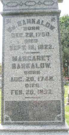 BARKALOW, WILLIAM - Warren County, Ohio   WILLIAM BARKALOW - Ohio Gravestone Photos