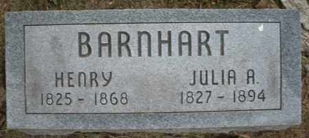 BARNHART, HENRY - Warren County, Ohio | HENRY BARNHART - Ohio Gravestone Photos