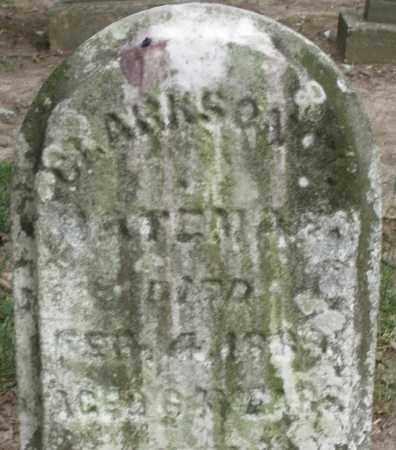 BATEMAN, CLARKSON - Warren County, Ohio | CLARKSON BATEMAN - Ohio Gravestone Photos