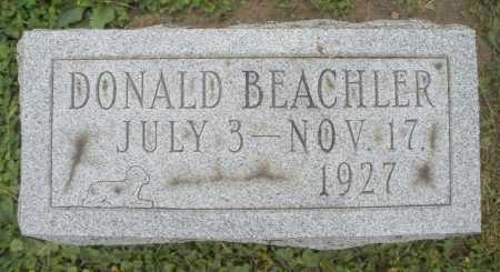 BEACHLER, DONALD - Warren County, Ohio | DONALD BEACHLER - Ohio Gravestone Photos
