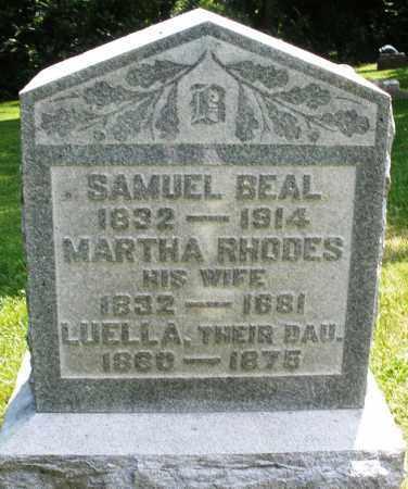 BEAL, SAMUEL - Warren County, Ohio | SAMUEL BEAL - Ohio Gravestone Photos