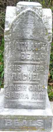 BEALS, RACHEL - Warren County, Ohio | RACHEL BEALS - Ohio Gravestone Photos