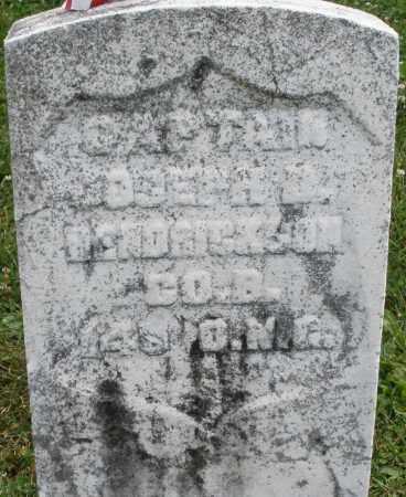 BENDRICKSON, JOSEPH - Warren County, Ohio | JOSEPH BENDRICKSON - Ohio Gravestone Photos