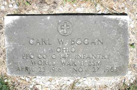BOGAN, CARL W. - Warren County, Ohio   CARL W. BOGAN - Ohio Gravestone Photos