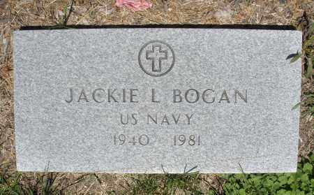 BOGAN, JACKIE L. - Warren County, Ohio | JACKIE L. BOGAN - Ohio Gravestone Photos