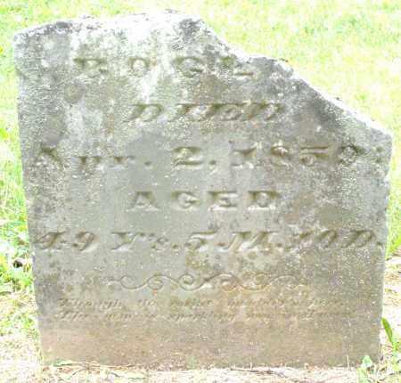 BOGER, UNKNOWN - Warren County, Ohio   UNKNOWN BOGER - Ohio Gravestone Photos