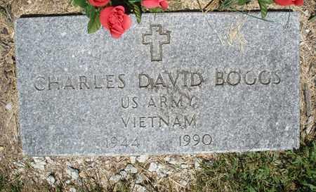 BOGGS, CHARLES DAVID - Warren County, Ohio | CHARLES DAVID BOGGS - Ohio Gravestone Photos